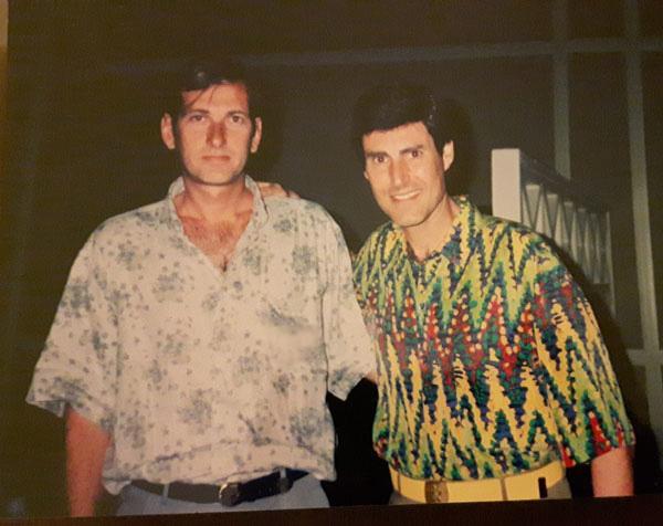 Κοσμάς Πανούτσος - Γιούρι Γκέλερ στα νίατα μας το 1992
